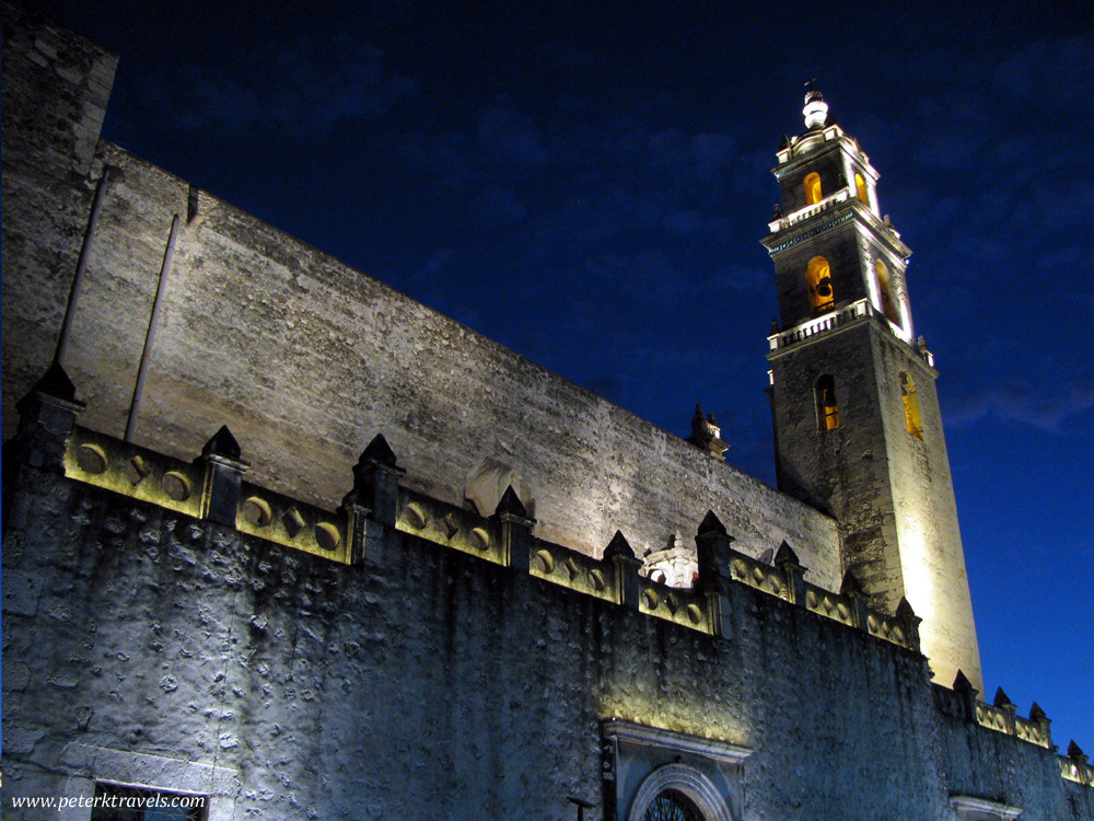 Cathedral de San Ildefonso at Night