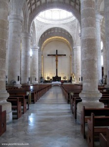 Cathedral de San Ildefonso Interior