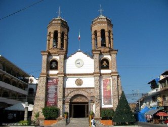 The church of San Miguel Archangel