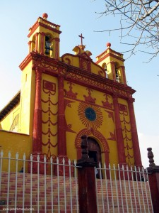 Iglesia Caralampio, Comitan