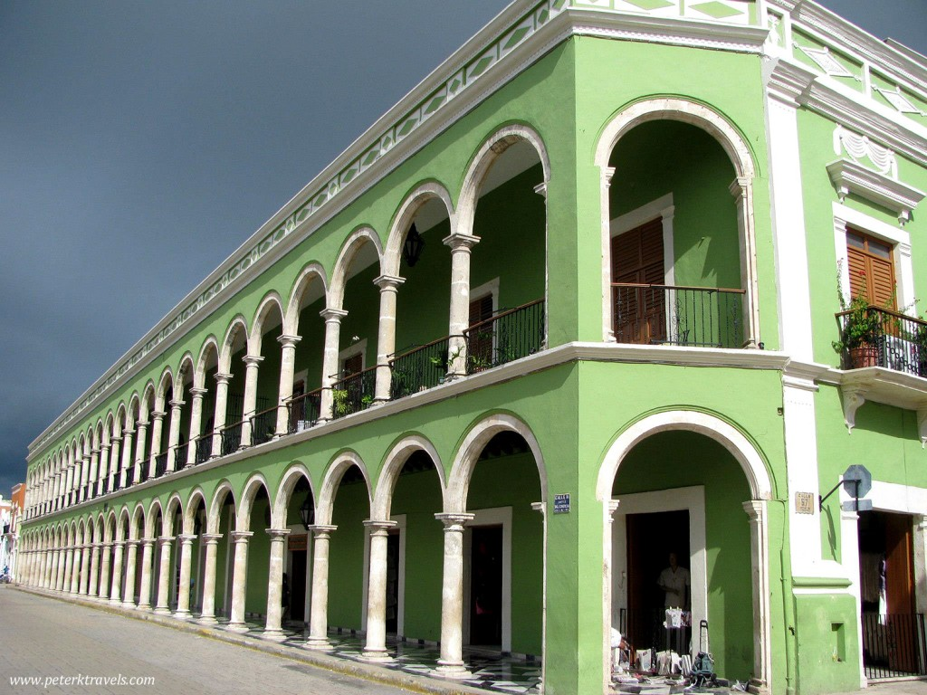 Green building, Campeche