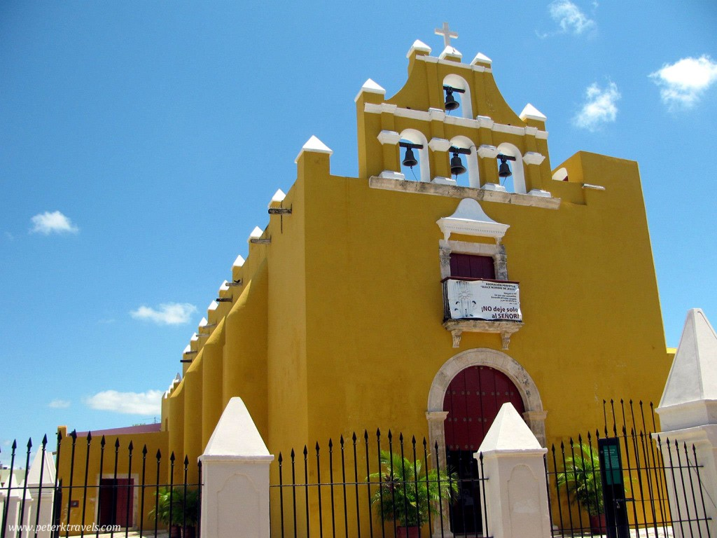 Small church in Campeche