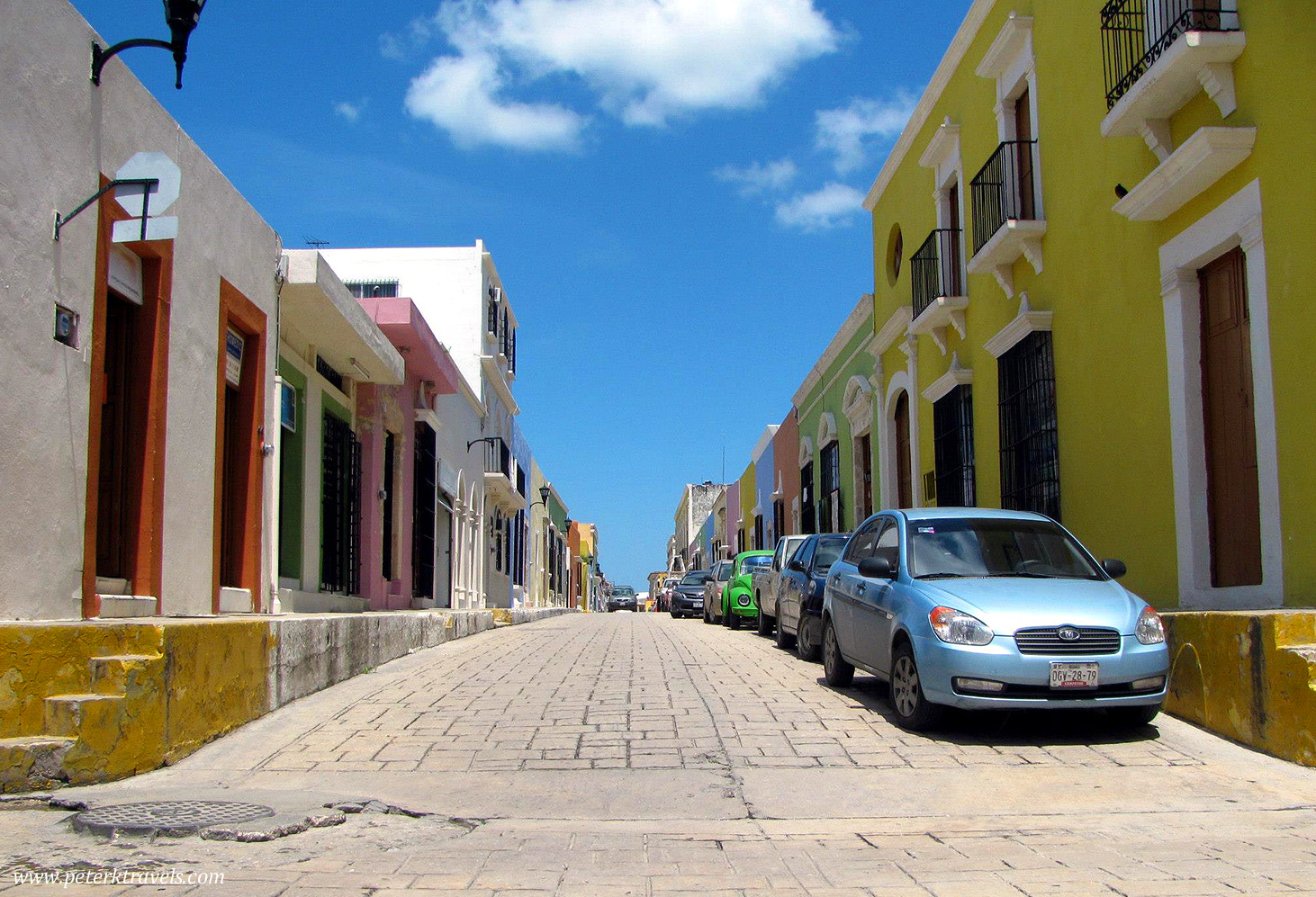Street view, Campeche
