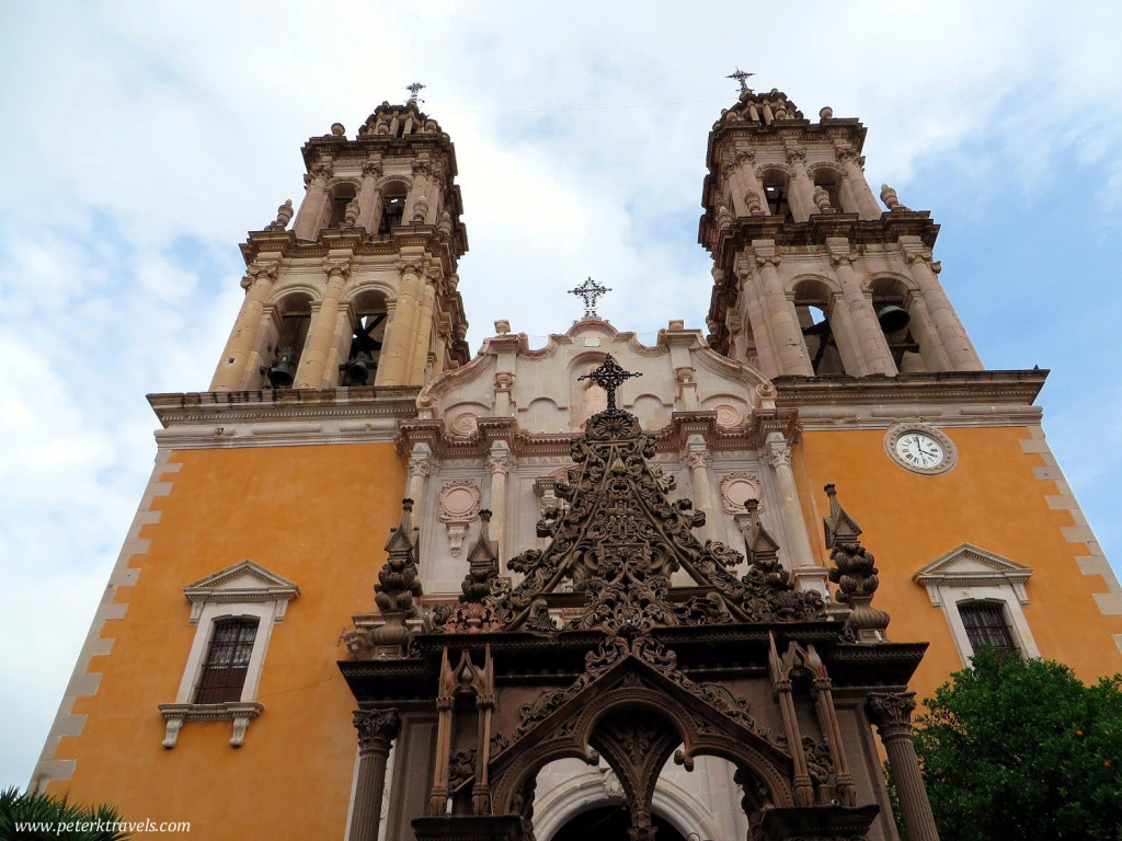 Another view of Santuario de Nuestra Senora de la Soledad
