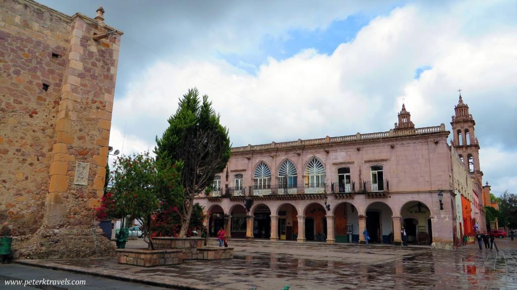 Plaza Tacuba and Portal de las Palomas