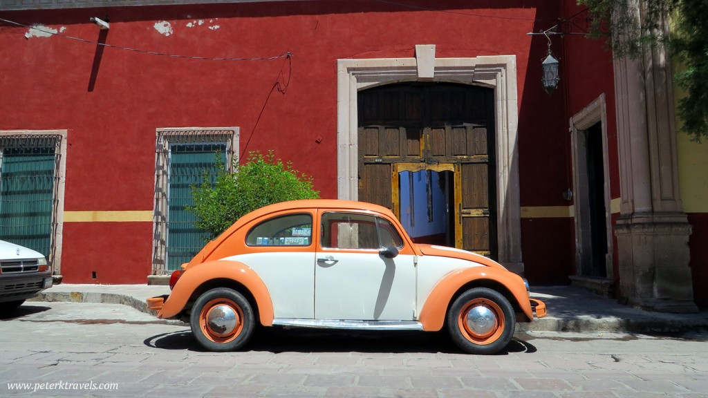 VW Bug on Jerez Street