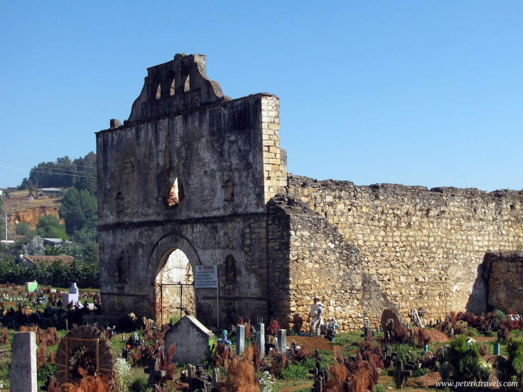 Ruined Church in Chamula