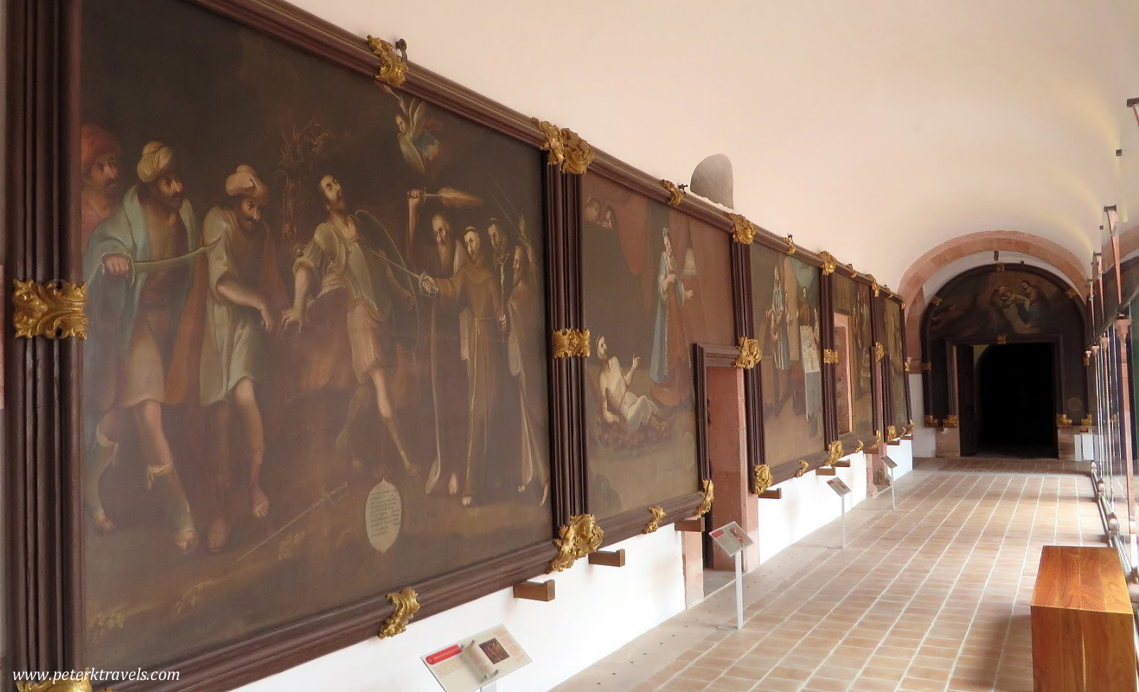 Paintings in Museo Guadalupe