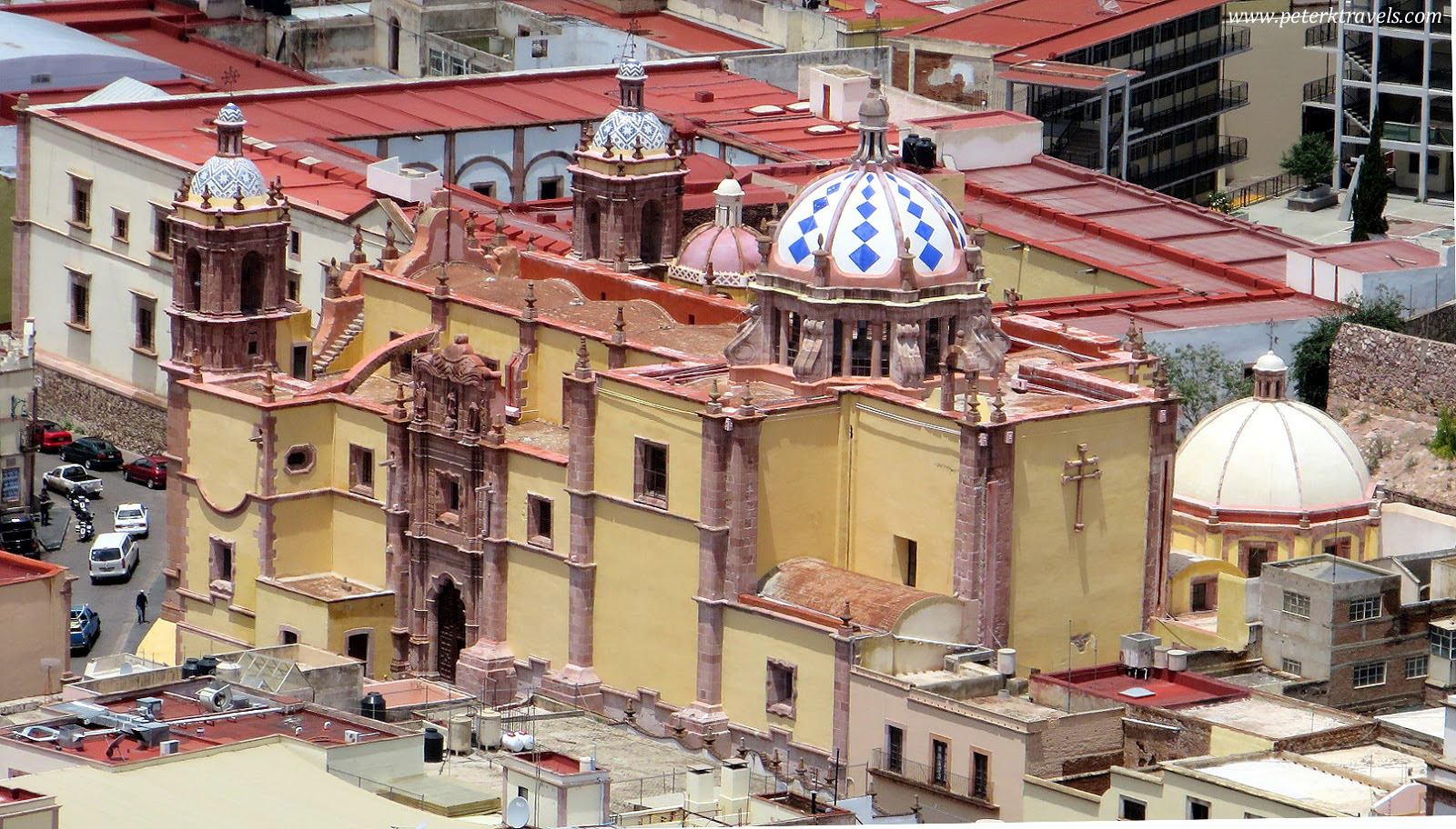 Iglesia de Santo Domingo From Above
