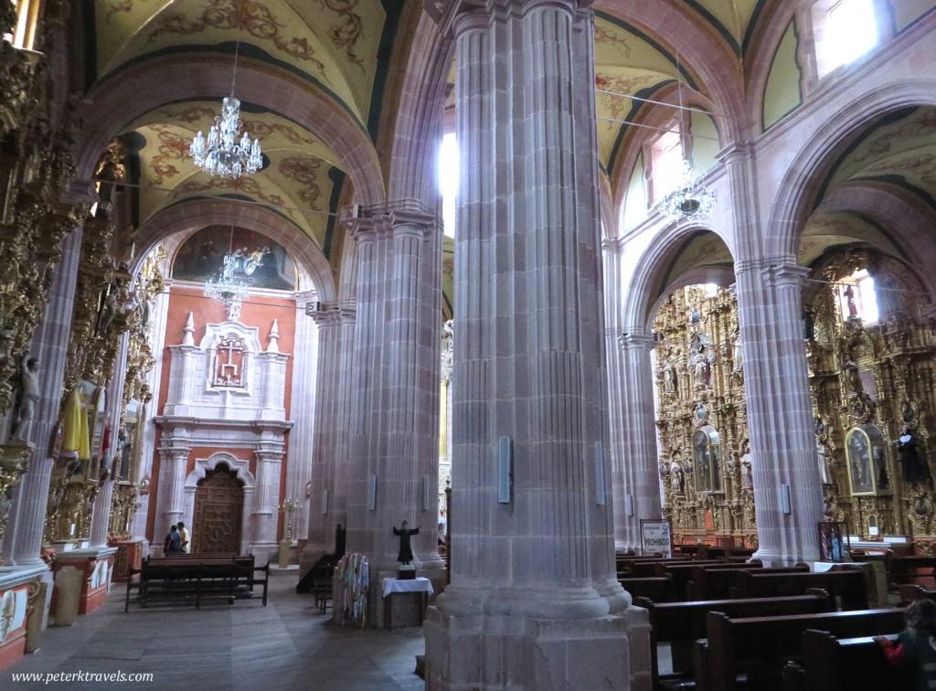 Iglesia de Santo Domingo Interior