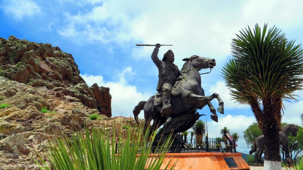 Pancho Villa on Cerro de la Bufa