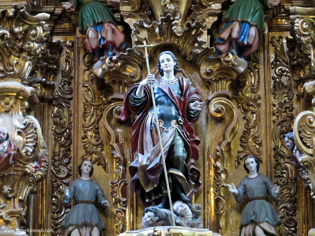 Parroquia de San Luis Obispo Interior Detail