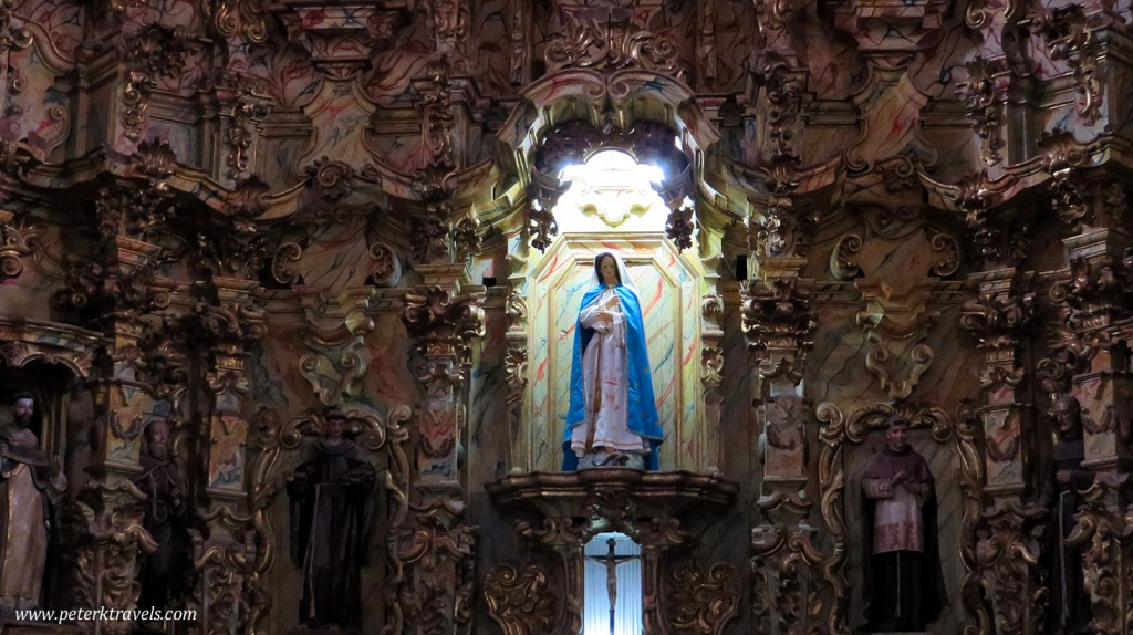 Interior Detail in Convent of San Luis Obispo, Huamantla