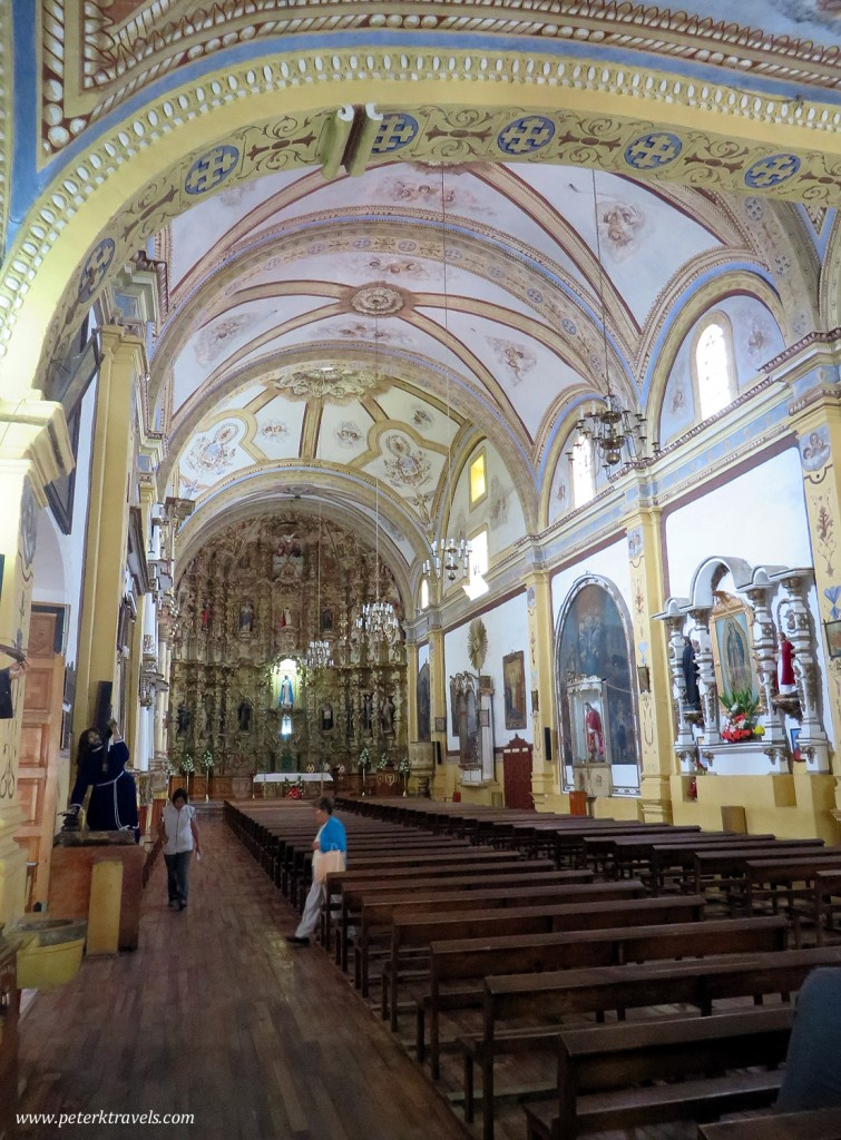 Interior Detail in Convent of San Luis Obispo, Huamantla