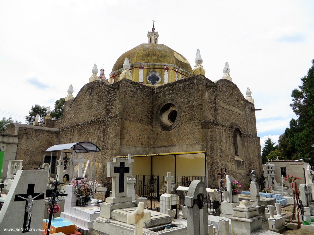 Cemetery and Church, Huamantla