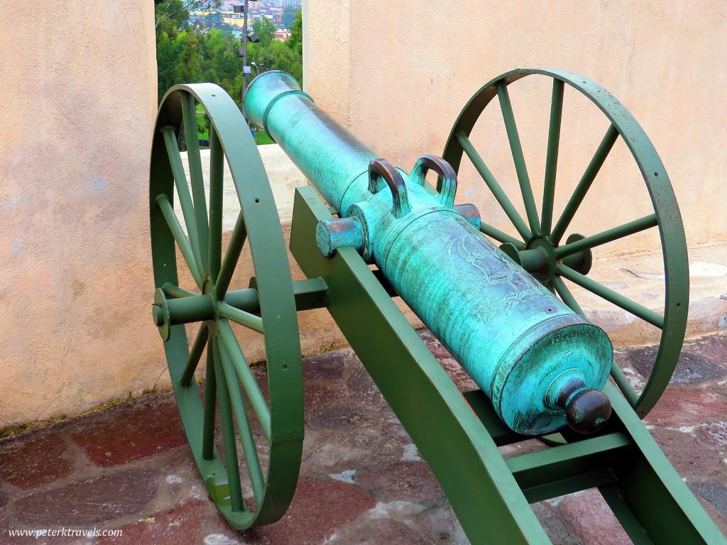 Cannon at Fuerte Loreto, Puebla