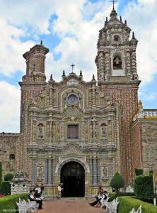 The Church of San Francisco Acatepec