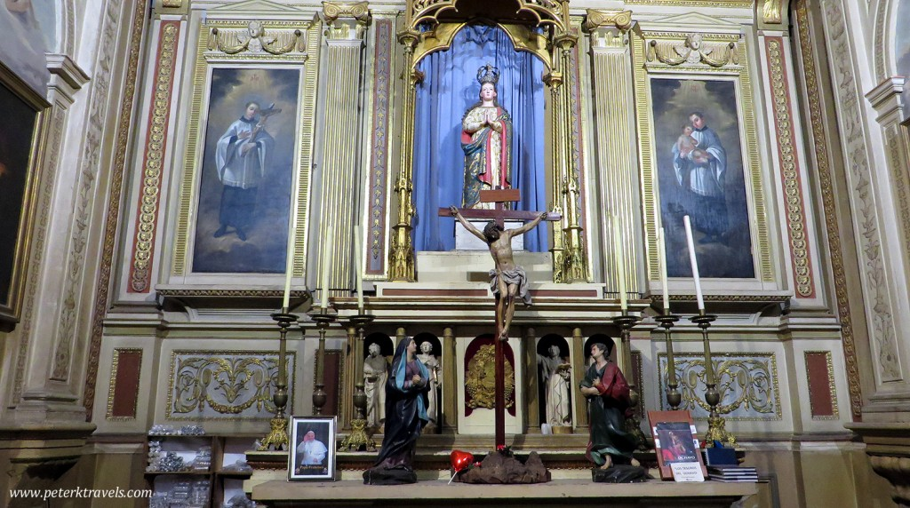 Puebla Cathedral, Interior Detail