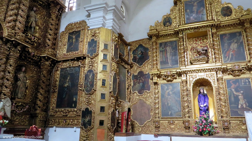 Side Chapel in Nuestro Senora de la Asuncion