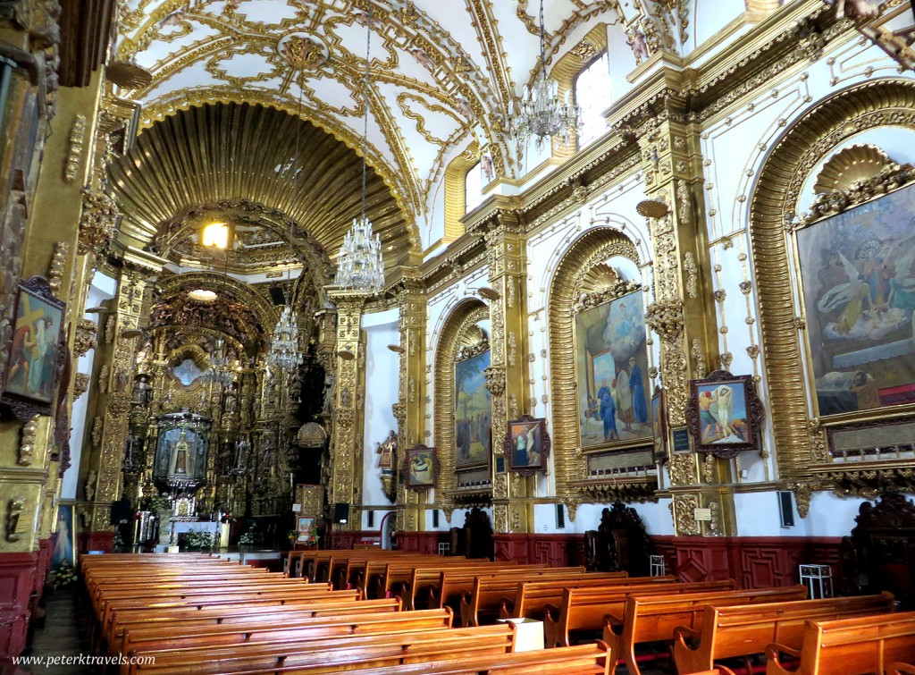 Basilica of Ocotlan Interior