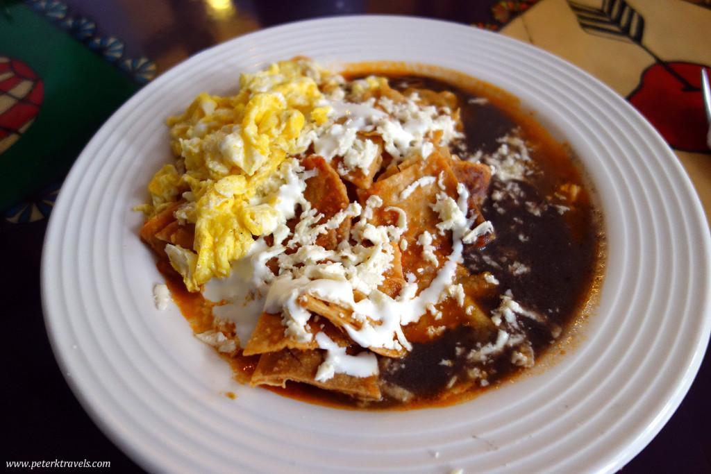 Chilaquiles, Posada del Cafeto, Xalapa Veracruz