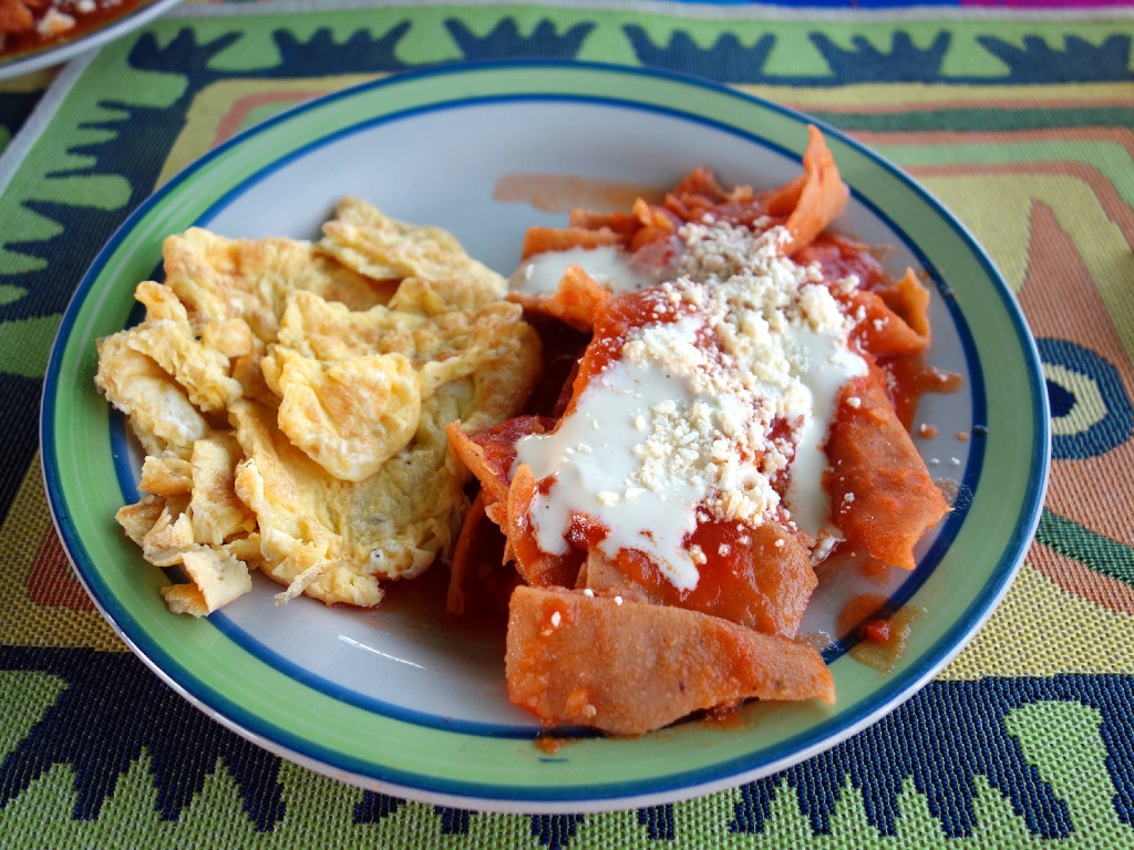 Chilaquiles in Tlaquepaque