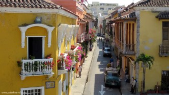 Street view, Cartagena