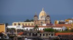 View toward old city from Castillo San Felipe de Barajas