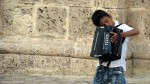 Young accordian player, Cartagena