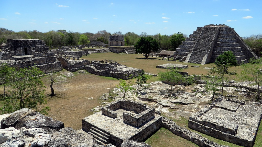 Ruins at Mayapan