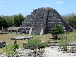 Pyramid at Mayapan