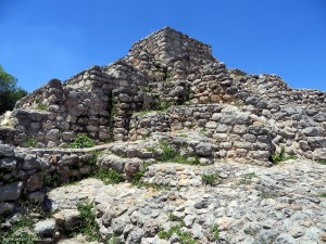 Pyramid in Acanceh