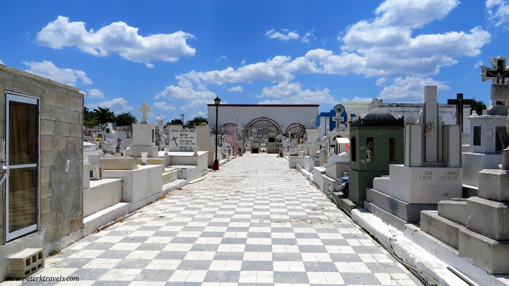 Cemetery in Campeche.