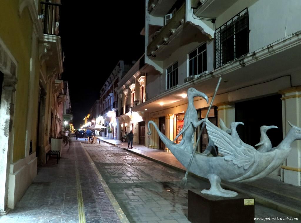 Campeche Street.