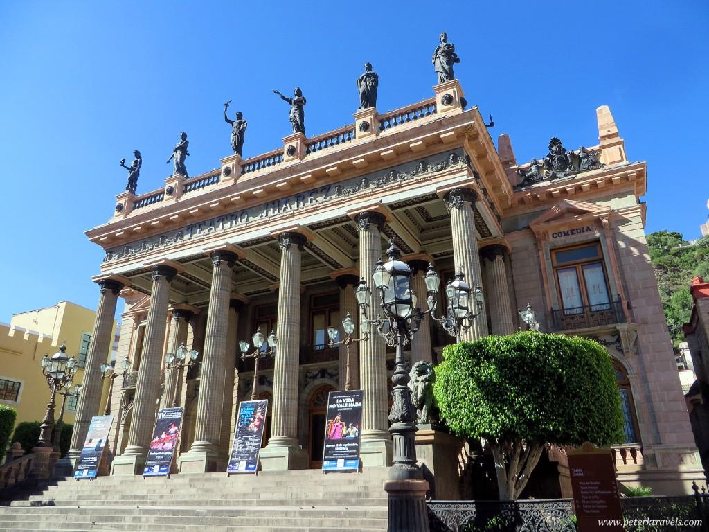 Teatro Juarez, Guanajuato