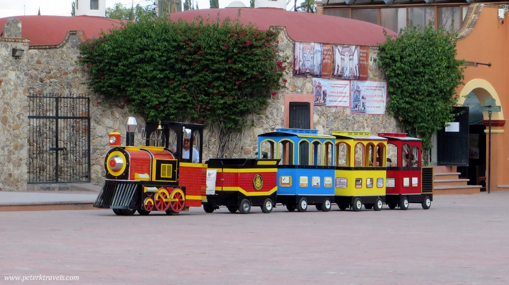 Train ride in Tequisquiapan
