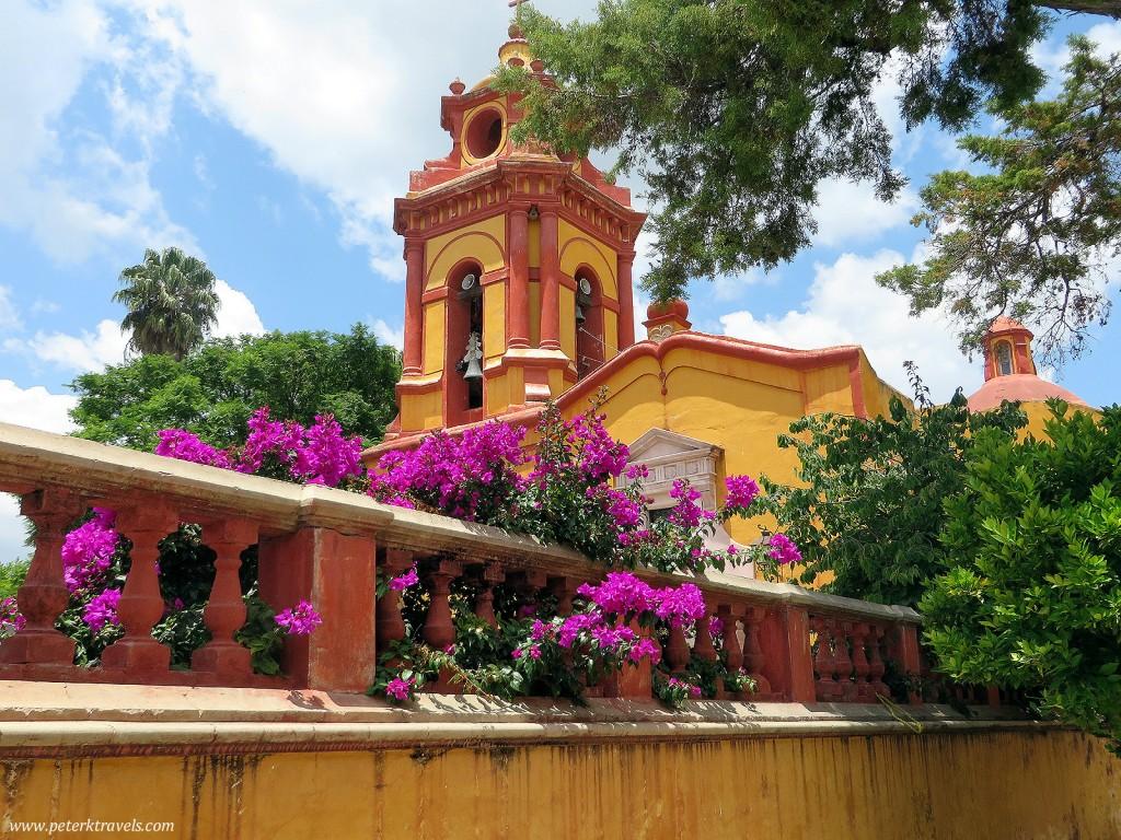 Templo de San Sebastian, Bernal