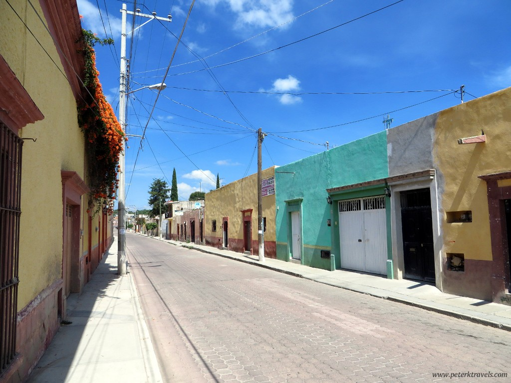 Cadereyta de Montes Street