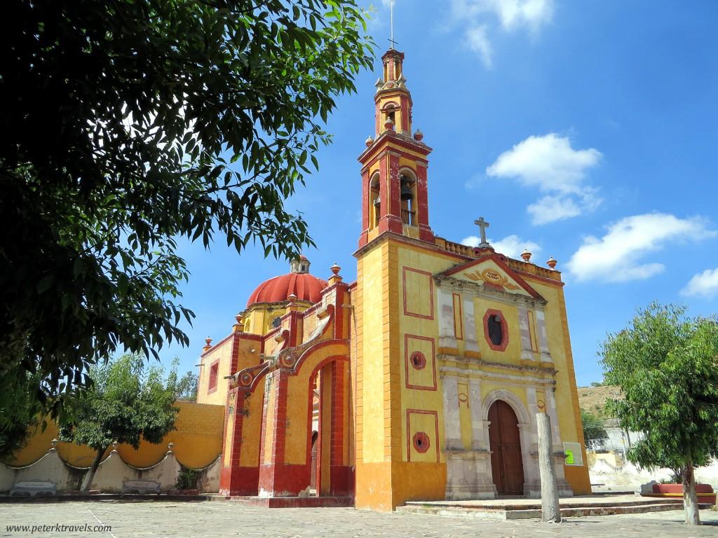 Templo de San Gaspar, Cadereyta