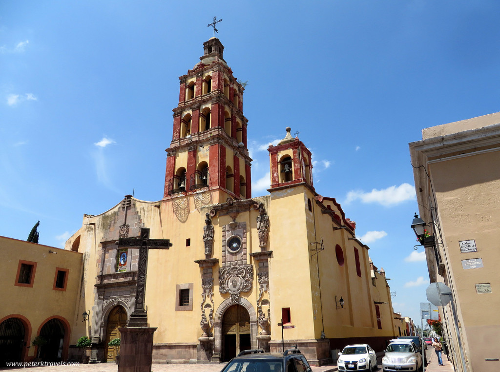 Temple of Santo Domingo, Queretaro