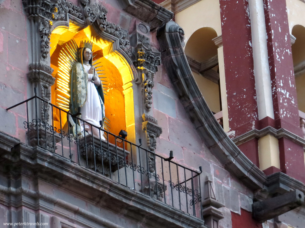 Detail of Temple of the Congregation, Queretaro