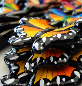 Butterflies at the Tonala Tianguis