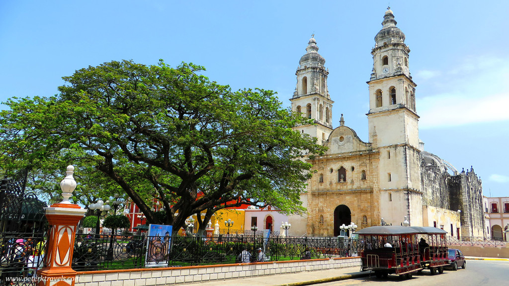 Main square in Campeche
