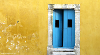 Door in Campeche
