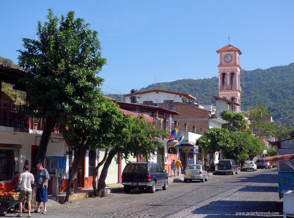 Puerto Vallarta Street Scene