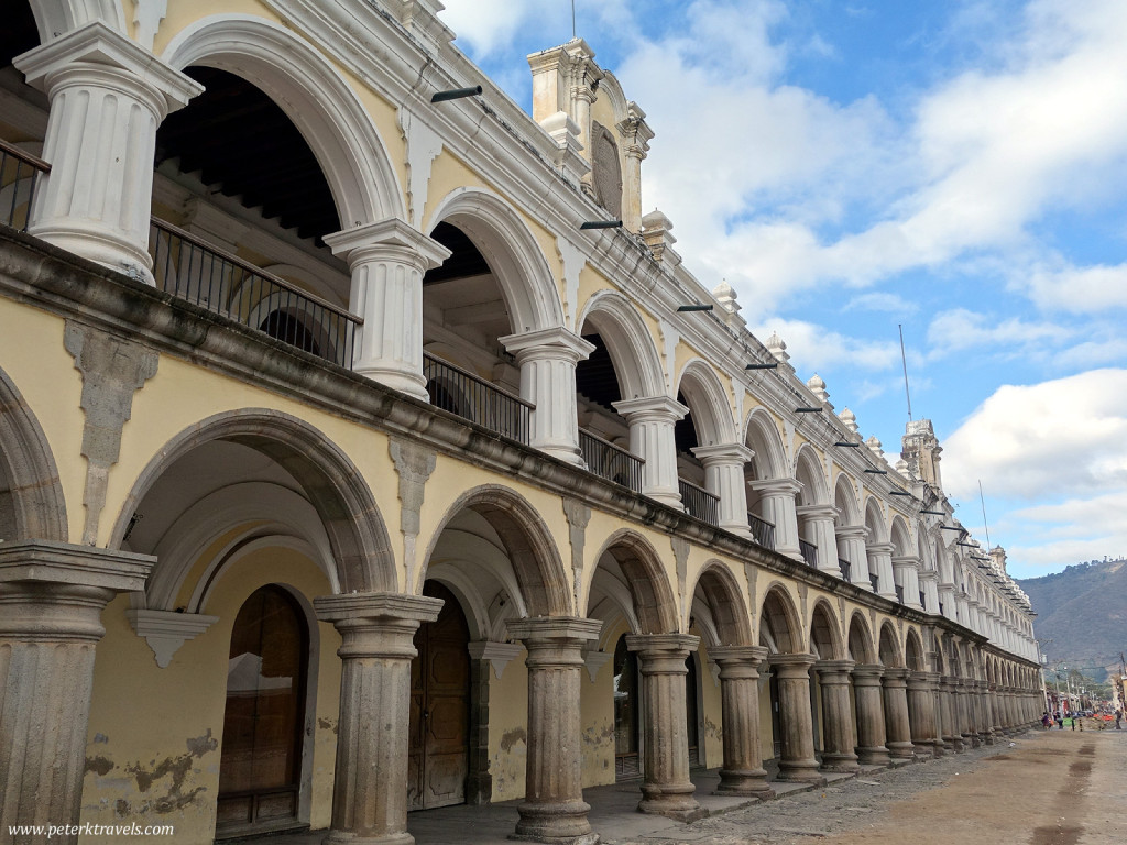 Arches on Antigua's Main Square