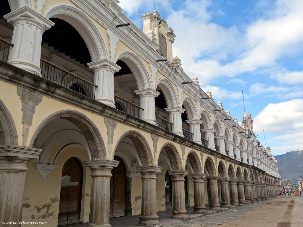 Arches on Antigua's Main Square