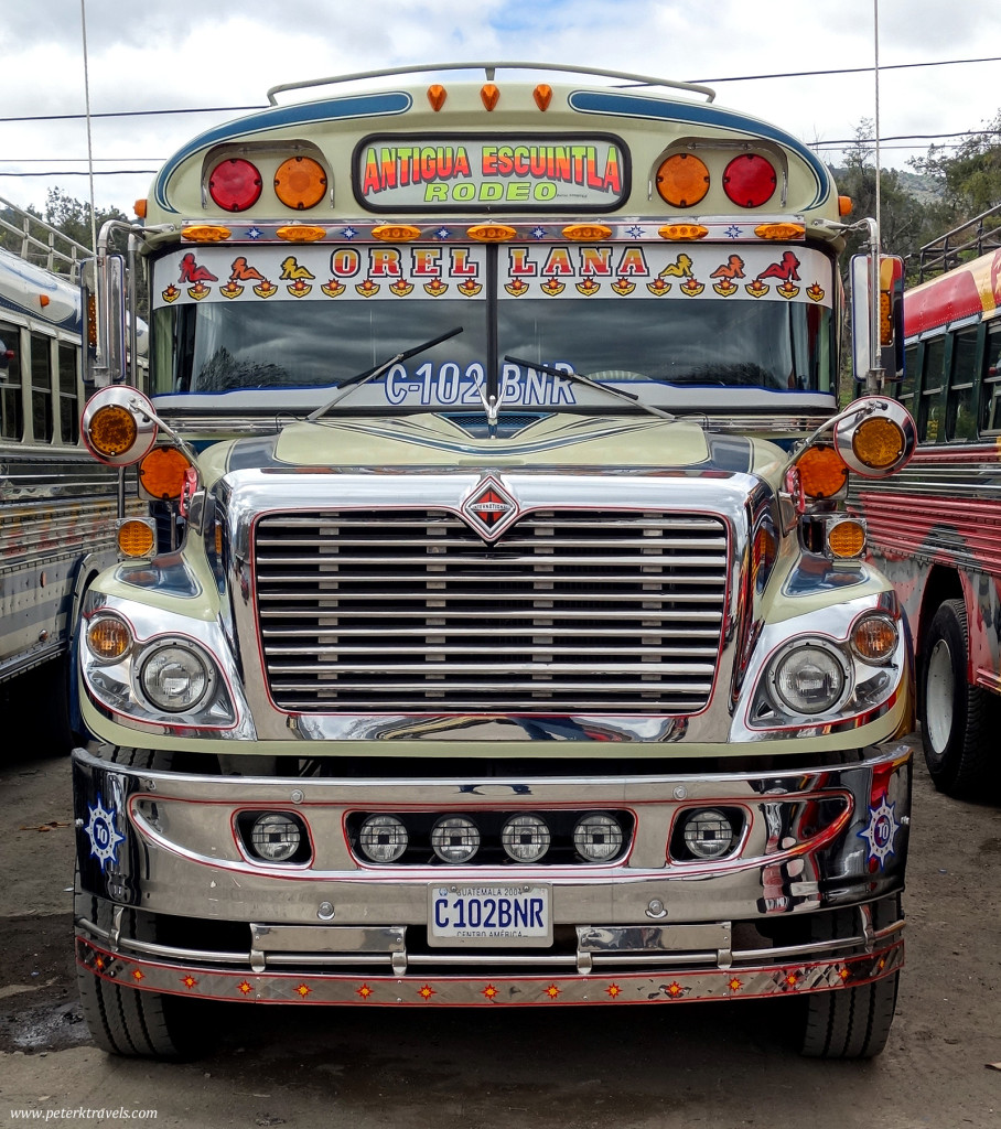Antigua Chicken Bus