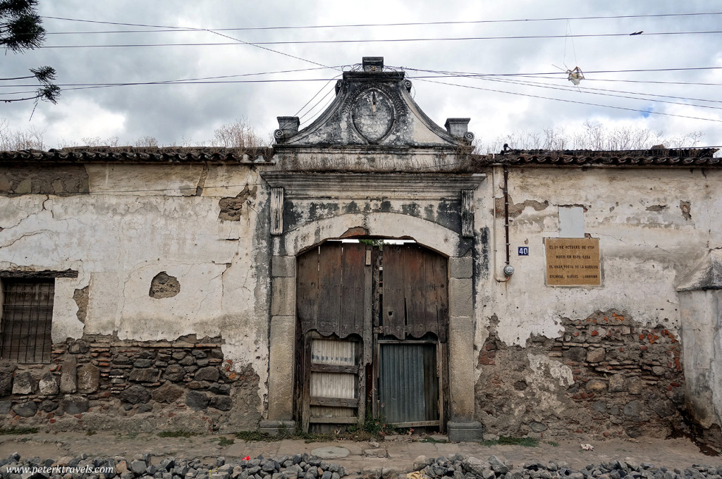 Ruined home, Antigua Guatemala