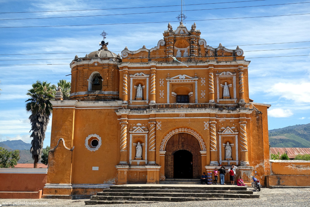 Church in San Pedro Last Huertas, Guatemala